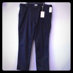 Men's Dockers Grey Pinstriped Casual Pants